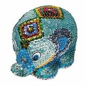 """3D-фигурка с пайетками """"Слон"""", набор для творчества (Волшебная мастерская)"""