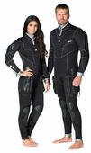 Женский полусухой длинный гидрокостюм для дайвинга Waterproof Sd Combat 7mm Women