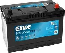 Аккумулятор для легковых автомобилей Exide start-stop EFB EL954 (95A/h), 800А R+