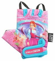Велоперчатки детские Vinca sport VG 952 Princess Kate
