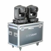Involight PROSPOT500SET - набор из 2х вращающихся голов (в кейсе), белый светодиод 180 Вт, DMX-512