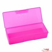 TNL Professional Пластиковый контейнер для стерилизации, малый, розовый. TNL Professional.