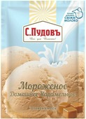 Пудовъ Мороженое домашнее карамельное, 70 г