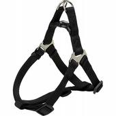 Шлейка для собак TRIXIE One Touch Harness XL 25 мм 80-100 см черный (204701)