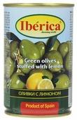 Iberica оливки с лимоном, 300 г