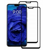 Противоударное защитное стекло с полным клеем Full Glue Screen Cover 0.3mm черное Huawei Honor 8X