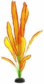 """Растение для аквариума Barbus """"Эхинодорус Бартхи"""", шелковое, цвет: желтый, красный, зеленый, высота 50 см"""