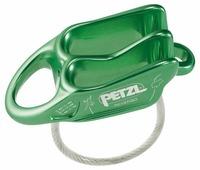 Страховочно-спусковое устройство Petzl Reverso зеленый