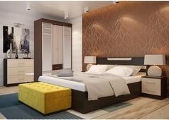 Спальня Юнона-1 (венге, дуб)