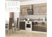Кухня Олива мокко 1.8 м