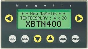 Компактный символьный дисплей 4х20, питание от ПЛК или =24В внешнее Schneider Electric, XBTN400