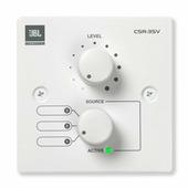 JBL CSR-3SV-WHT Настенный контроллер, 3-позиционный селектор источника и управление громкостью. Цвет белый.