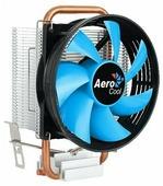 Вентилятор Aerocool Verkho 1-3P (Soc1156/1155/1151/1150/775/AM4/AM3+/AM3/AM2+/AM2/FM2/FM1, 2300rpm, 59.9CFM, 27.6dB, 3pin, 100W)