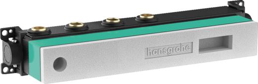 Скрытая часть Hansgrohe RainSelect для 2 потребителей, 15310180