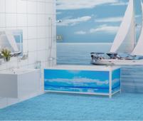 Лицевой экран под ванну Метакам Ультралегкий Арт - 148 148 см