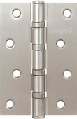 Петля дверная универсальная стальная Punto 4B 100х70х2.5 PN мат.никель