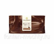 Молочный шоколад Callebaut без сахара (на мальтитоле), блок 5 кг