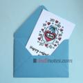 All Write Открытка почтовая Happy valentines day XO, A6