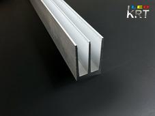 Радиаторный алюминиевый профиль 23х38мм