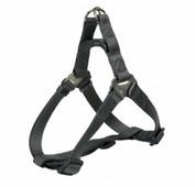 Шлея TRIXIE для собак Premium Harness XL 80-100см/25мм графит
