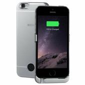Чехол аккумулятор для iPhone 5 / SE Gray, 2200 мАч, INTERSTEP 45544