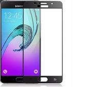 Противоударное защитное стекло на весь экран Ainy Full Screen Cover Black Samsung A510F Galaxy A5 (2016)