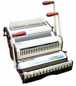 Комбинированный переплетчик Warrior 21182 (WireMac-31 + Combo)