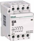 Контакторы модульные Schneider Electric Модульный контактор 4НЗ 40А 230В МК-103 DEKraft Schneider Electric, 18084DEK