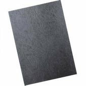Обложки картонные для переплета под кожу, А4, 230 г/м2, черный (Диктум)
