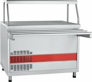 Холодильный прилавок ABAT ПВВ(Н)-70КМ-НШ ПВВ(Н)-70КМ-НШ нерж.