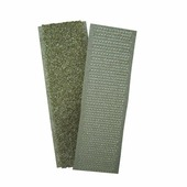 Застежка текстильная (липучка) 20-50 мм, хаки, размер: 20