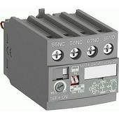 Аксессуары для контакторов TEF4-ON Электронная приставка времени с задержкой на включение 0.1...100 сек. для AF09-AF96 и NF ABB