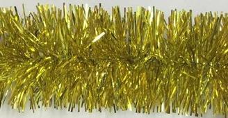 """Мишура """"Сверкающая елка"""", 5 см, 2 м, золотая, (Miland)"""