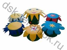 Детская игровая мебель «На полянке»