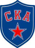 Наклейка на авто СКА Логотип 10 см х 14 см