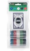 Сувенирный набор Magic Home, для игры в покер, 79864, 12 х 24,5 см