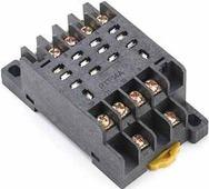 РР102-4-10 Розетка для реле 4 контакта 10А DEKraft Schneider Electric, 23237DEK