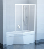 Стеклянная шторка для ванны Ravak VS3 130 x 140 130 / 140 см
