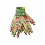 Перчатки нейлоновые садовые STARTUL GARDEN (желтые)