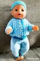 Набор одежды для куклы Baby Born - Бриз Krispy Handmade