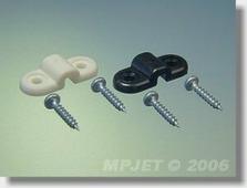 MP JET Скоба крепления шасси, нейлон, для 2мм, MPJet, 4шт.