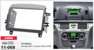 CARAV 11-068 - HYUNDAI Sonata (NF), Sonica 2004-2008 (2-DIN)