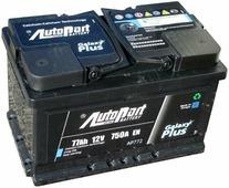 Аккумулятор для легковых автомобилей Autopart Galaxy Plus AP772 (77 A/h), 750A R+