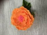 Цветок Камелии Силиконовая форма 3D
