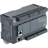 Мультимедийные контроллеры Компактный базовый блок m221-40io реле ethernet Schneider Electric