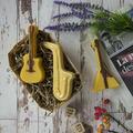 Музыкальные инструменты, 3D форма для мыла пластиковая