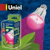 Лампа светодиодная для растений Uniel LED-A60-9W