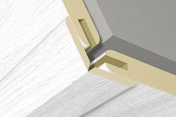 Вариативный угол для стеновой панели Kronowall 3D