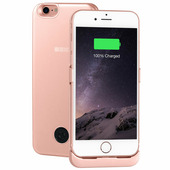 Чехол-аккумулятор 3000мАч Li-Pol для iPhone7/8 Rose