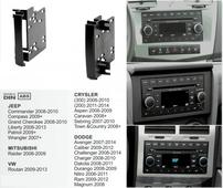 AVEL Переходная рамка AVIS AVS500FR для Chrysler, Doodge, Jeep, 2DIN (#052)